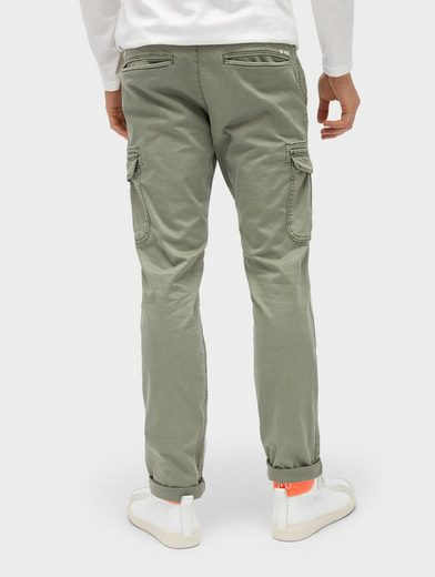 Tom Tailor Denim Chinohose Cargochino