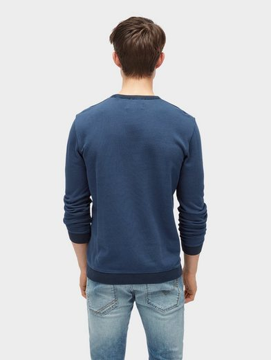 Tom Sweat-shirt En Denim Avec Un Pull
