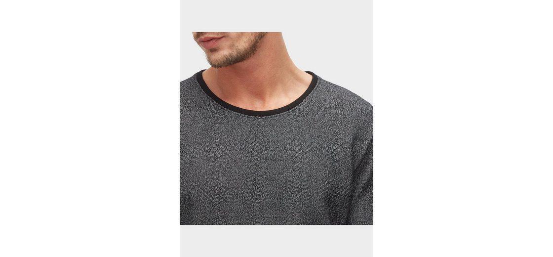 Outlet-Store Günstiger Preis Tom Tailor Langarmshirt in Melange-Optik Shop Für Günstigen Preis Billig Verkauf 2018 Neueste r4Evt