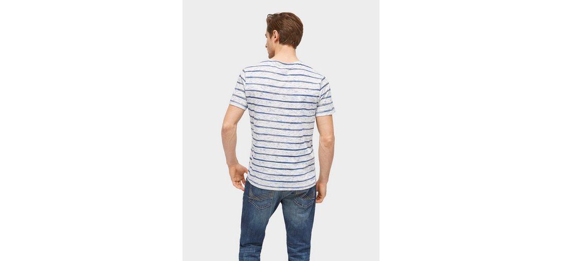 Online-Verkauf Tom Tailor T-Shirt gestreiftes T-Shirt Vermarktbare Verkauf Online Schnell Express 2018 Neue Online 7RxUR