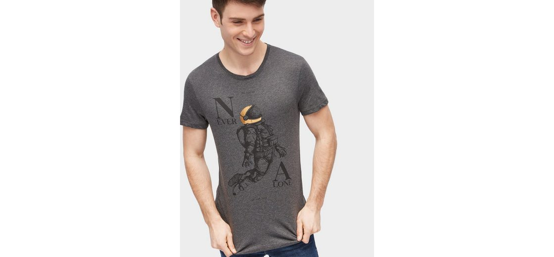 Tom Tailor Denim T-Shirt mit Motiv-Print Großhandelspreis Günstig Online Geniue Händler OGWVjSC2