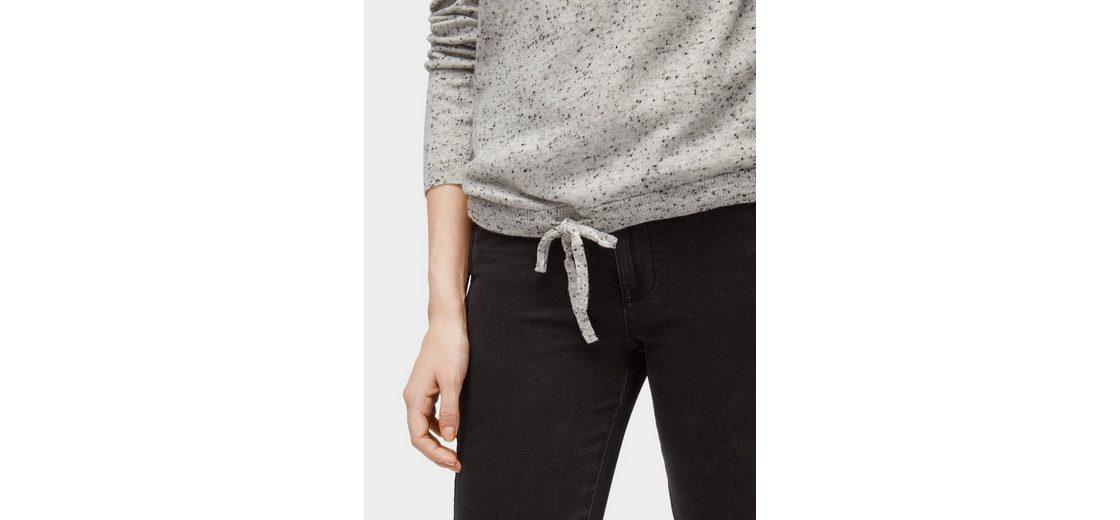 Tom Tailor Denim Rundhalspullover Pullover in Melange-Optik Äußerst Niedrige Versand Online Große Auswahl An Zum Verkauf hb34N