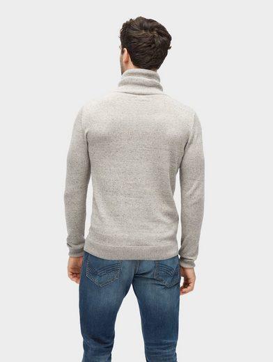 Tom Tailor Strickpullover Pullover mit Rollkragen