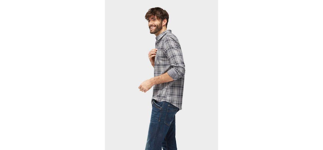 Tom Tailor Langarmhemd mit Karomuster Günstig Kaufen Verkauf Besuchen Online Spielraum Sehr Billig Verkauf Niedrigster Preis bRqBR