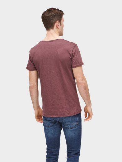 Tom Tailor Denim T-Shirt mit Logo-Print