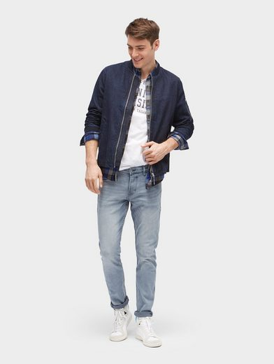Tom Tailor Denim T-Shirt mit Schriftzug