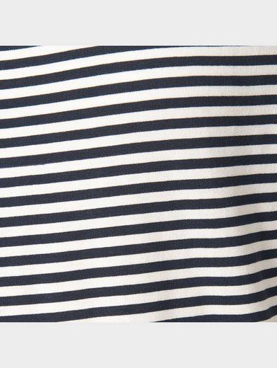 Tom Tailor Denim Langarmshirt Langarm mit Streifen