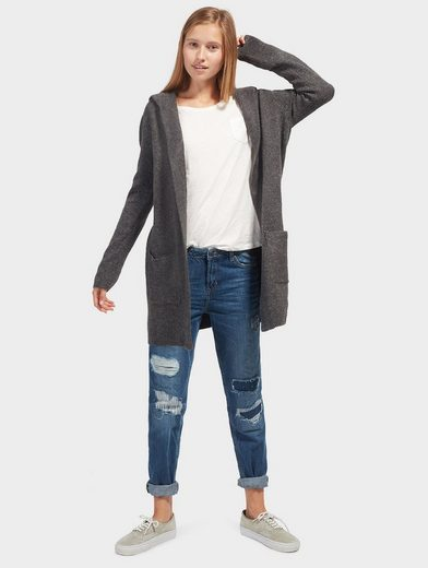 Tom Tailor Denim Strickjacke mit Taschen