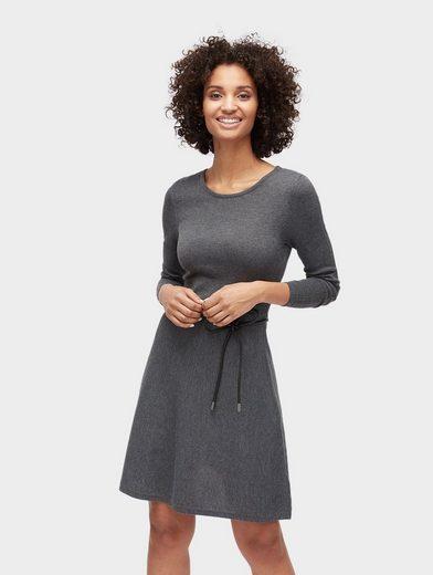 TOM TAILOR A-Linien-Kleid »Strickkleid mit Ремни «