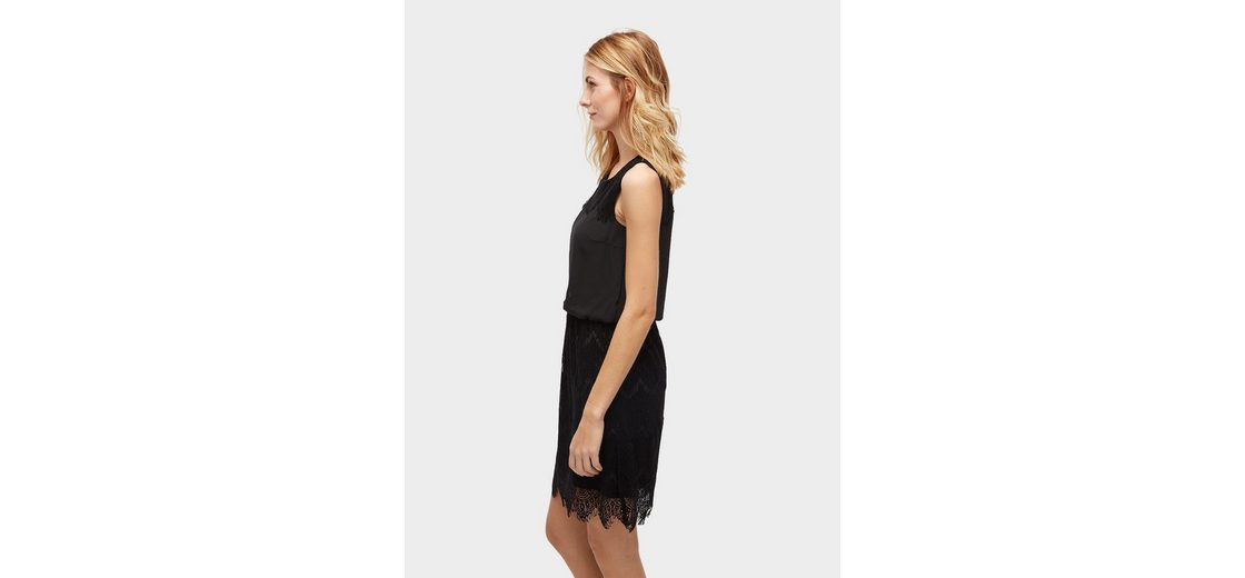Tom Tailor A-Linien-Kleid mit Details aus Spitze Freies Verschiffen Truhe Finish Verkauf Austrittsstellen Billig Verkaufen Low-Cost Freies Verschiffen Großer Verkauf YXasx