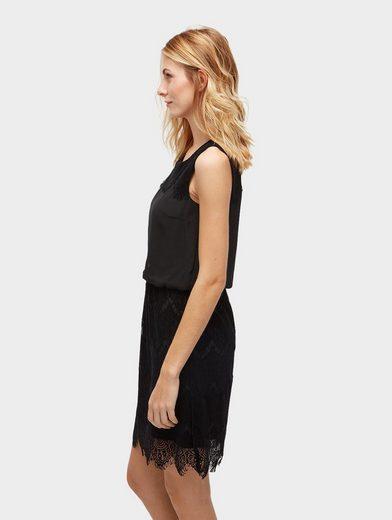 Tom Tailor A-Linien-Kleid mit Details aus Spitze
