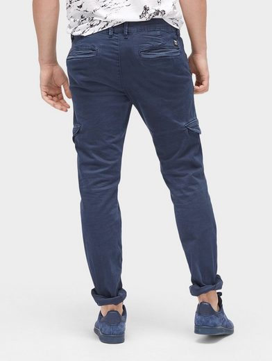 Tom Tailor Denim Chinohose im Cargo-Stil