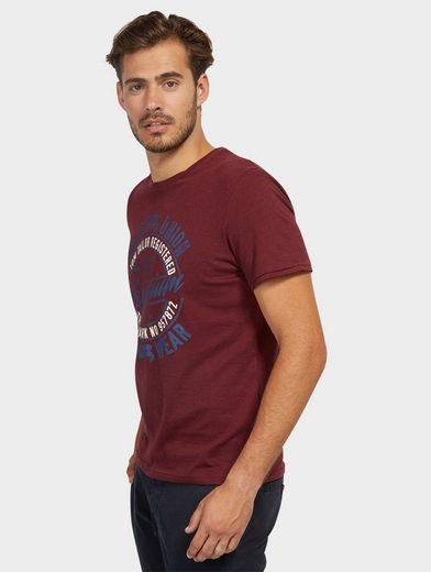 Tom Tailor T-Shirt mit Schriftzug
