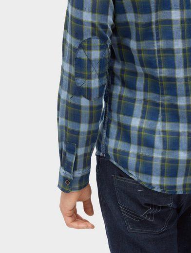 Tom Tailor Langarmhemd kariertes Hemd