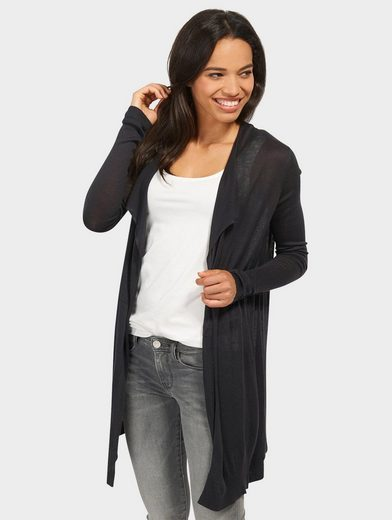 Tom Tailor Strickjacke langer Strick-Cardigan