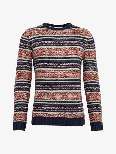Tom Tailor Strickpullover gemusterter Pullover