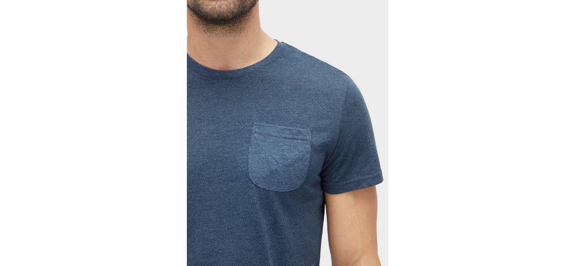 Angebote Günstig Online Freies Verschiffen Besuch Tom Tailor T-Shirt meliertes T-Shirt mit Brusttasche Amazon Günstig Online Original Günstiger Preis Freies Verschiffen Bester Großhandel 5teE2YR