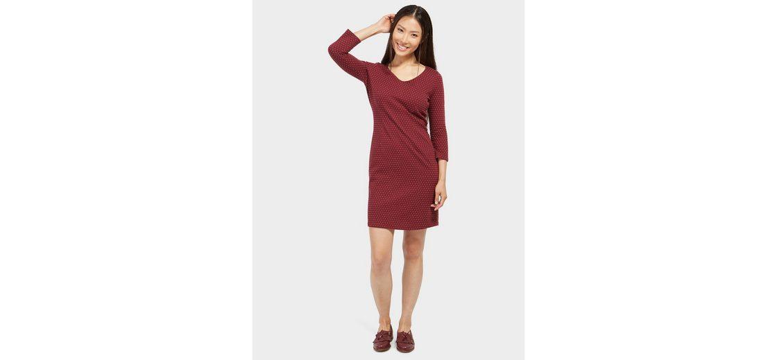 Tom Tailor A-Linien-Kleid mit Punkte-Struktur Billigshop Billig Großer Verkauf 0tkIsS