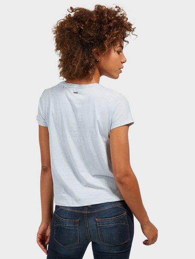 Tom Tailor Denim T-Shirt mit Knoten-Detail