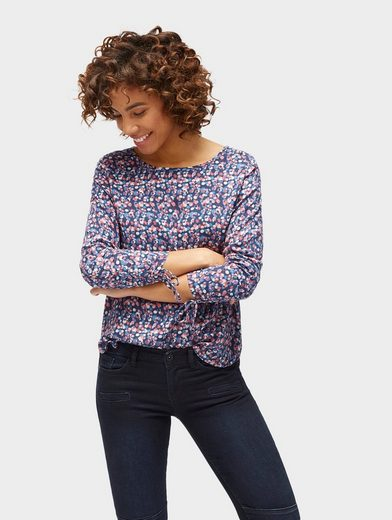 Tom Tailor Long Sleeve Patterned Blouse