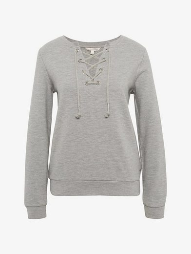 Tom Tailor Denim Sweatshirt mit Schnürung