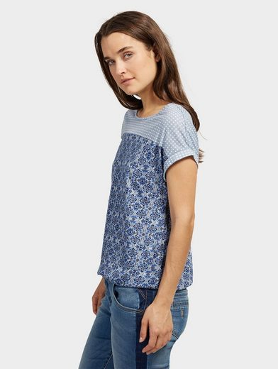 Tom Tailor T-shirt With Elastic