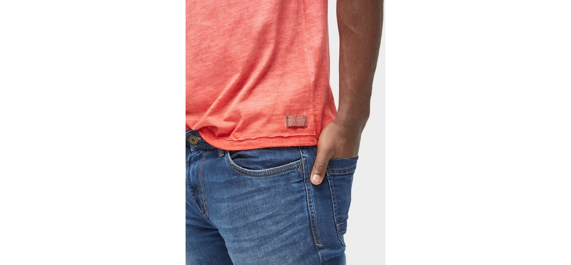 und Print Shirt Shirt T Tailor T Tom mit Brusttasche UwApqaC