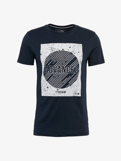 Tom Tailor Denim T-shirt T-shirt Mit Galaxie-print