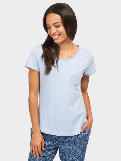 Tom Tailor T-Shirt mit Pailletten-Brusttasche
