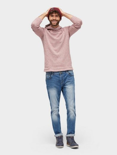 Tom Tailor Strickpullover in Melange-Optik