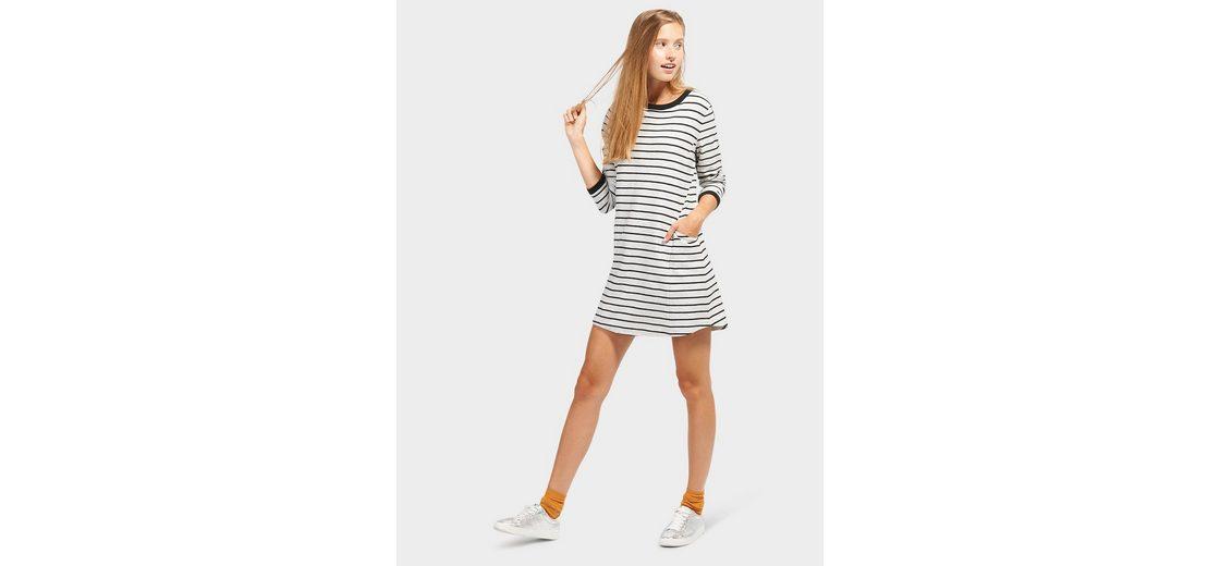 Verkauf Online-Shop Billig Erschwinglich Tom Tailor Denim Jerseykleid mit Ringelmuster Geniue Händler Günstig Online aKZM5NX