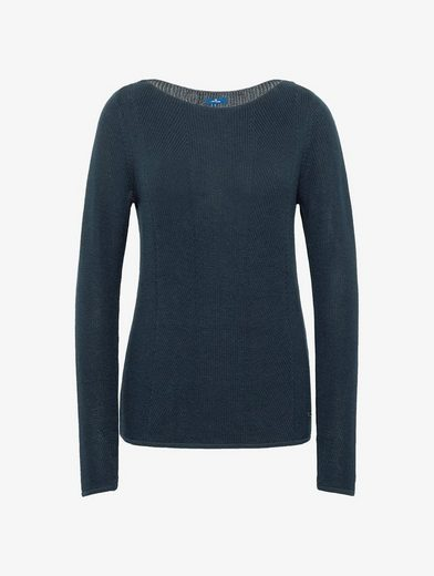 Tom Tailor Strickpullover in Ripp-Optik