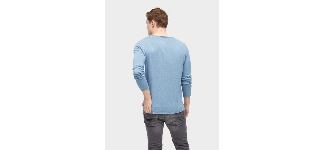 Billig Rabatt Authentisch Ebay Günstiger Preis Tom Tailor Denim Rundhalspullover Pullover mit Rollkanten taQQpi