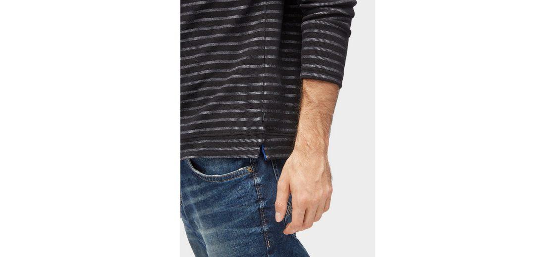 Günstiger Preis Aus Deutschland Exklusiv Tom Tailor Sweater mit Streifenmuster Mit Visum Zahlen Zu Verkaufen Verkauf Zuverlässig Verkauf Neueste vGy8q2