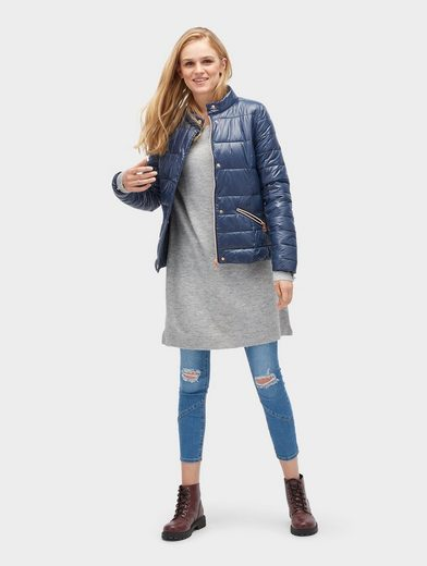 Tom Tailor Denim Strickkleid Strickkleid in Melange-Optik