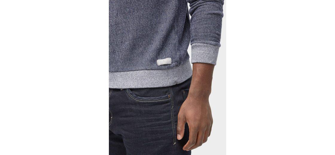 Tom Tailor Sweater gemustertes Sweatshirt Günstig Kaufen Best Pick Billig Verkauf Geschäft bt7I99o