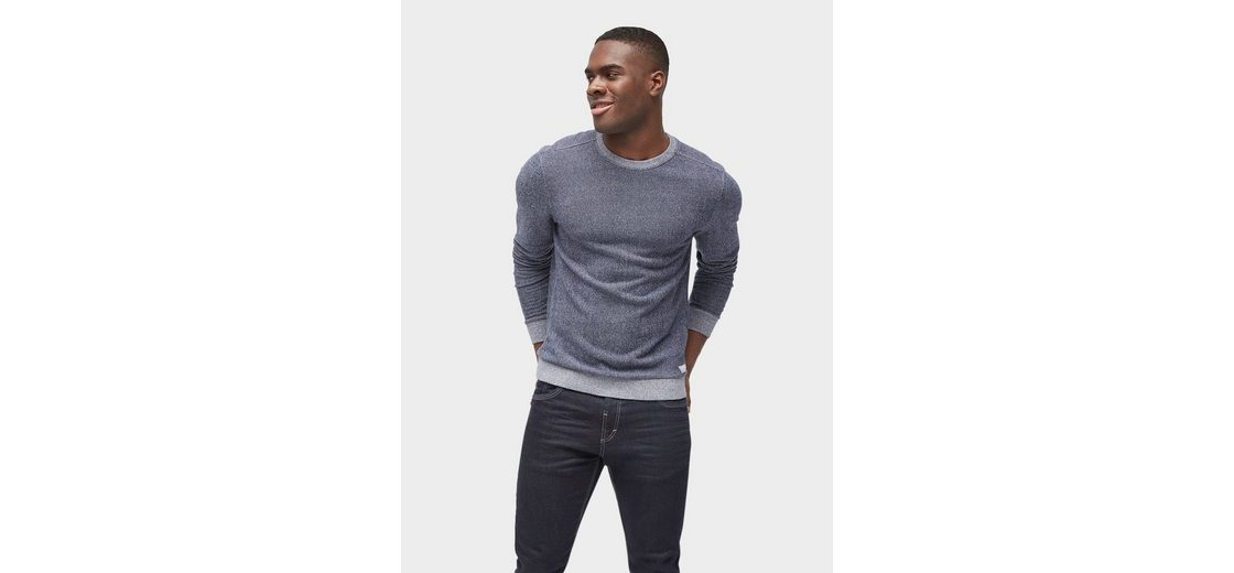 Tom Tailor Sweater gemustertes Sweatshirt