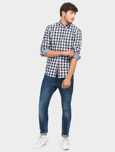 Tom Tailor Denim Hemd mit Karo-Muster