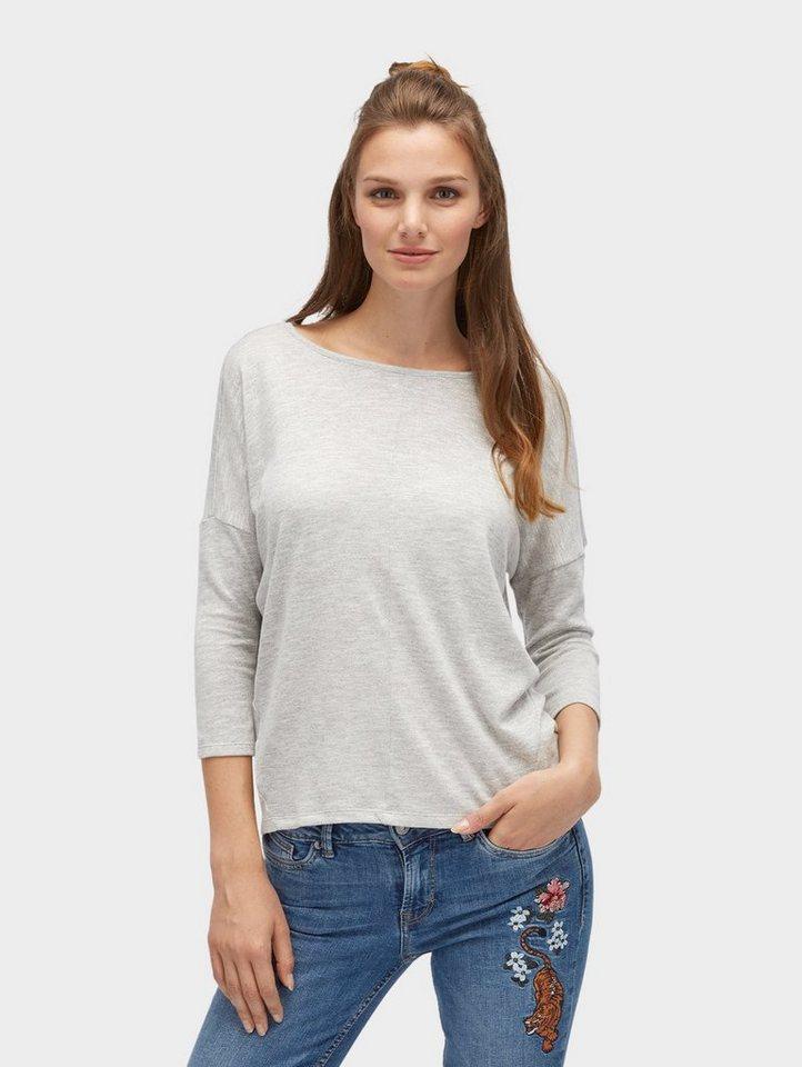 Tom Tailor Denim T-Shirt »mit überschnittenen Schultern« online ... a1dcf11345