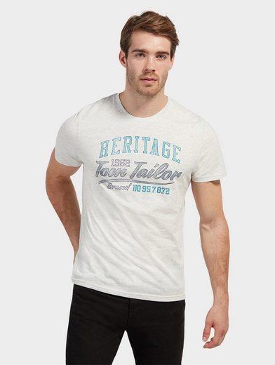 Tom Tailor T-Shirt mit Schrift-Print