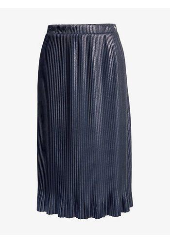 Damen Tom Tailor Denim Bleistiftrock mit Glitzer-Details blau | 04059953344606