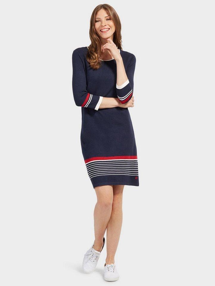 Tom Tailor A-Linien-Kleid »mit Streifen-Details«   OTTO