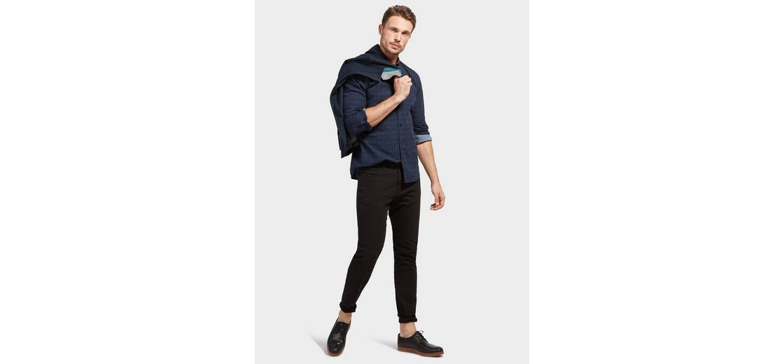Tom Tailor Langarmhemd mit Karomuster Spielraum Günstig Online Echt Freies Verschiffen Billig Qualität Billige Bilder 9zxcxF