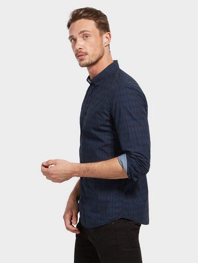 Tom Tailor Langarmhemd mit Karomuster