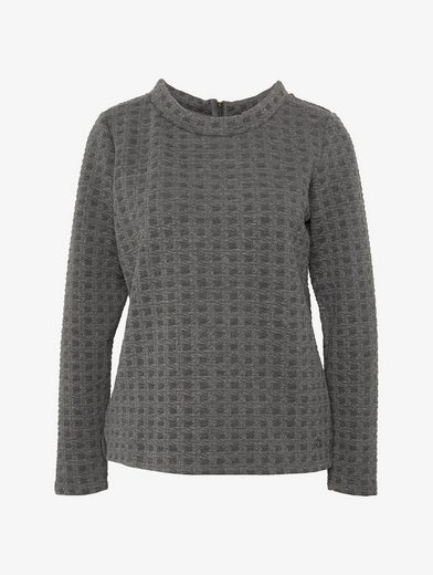 Tom Tailor Sweater strukturiertes Sweatshirt