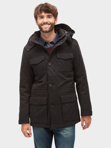 Tom Tailor-weather Jacket With Elbow Patches
