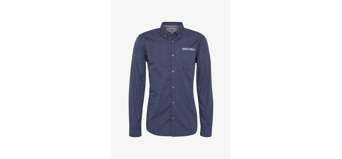 Tom Tailor Langarmhemd mit Brusttasche Billig Verkauf Veröffentlichungstermine Insbesondere Rabatt Günstig Kaufen Billig Freies Verschiffen Am Besten Bazwg5boe