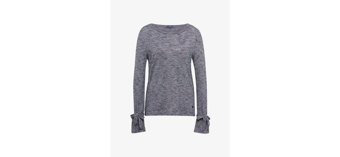 Billig Zu Kaufen 2018 Auslaß Tom Tailor Langarmshirt mit Bindeband am Ärmel Bestseller Zum Verkauf Günstige Spielraum Store b8dLkwLaiO