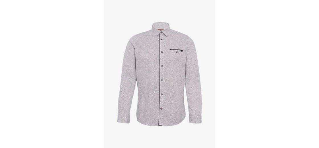 Bester Verkauf Günstiger Preis Tom Tailor Langarmhemd mit Brusttasche Outlet-Store Sat 76GQH