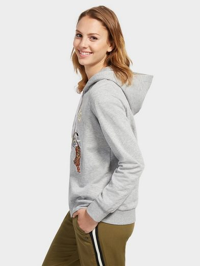 Tom Tailor Denim Hoodie Hoodie mit Stickerei